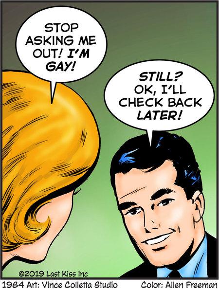 Last Kiss Comic Strip for June 26, 2019