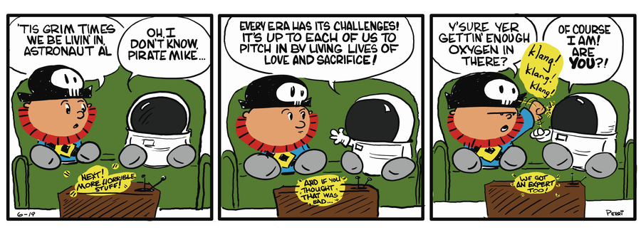 Pirate Mike Comic Strip for May 14, 2019