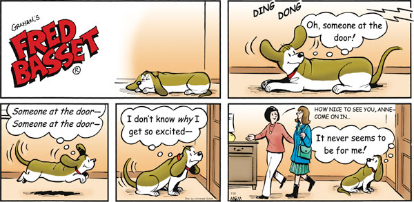 Fred Basset Comic Strip for January 30, 2011