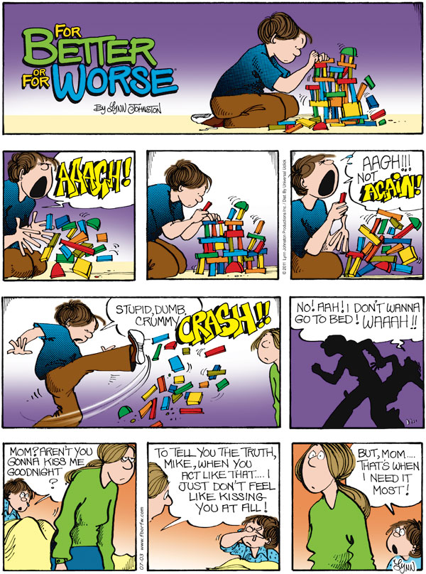 For Better or For Worse Comic Strip for July 03, 2011