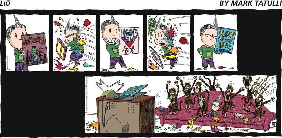 Lio for Nov 9, 2008 Comic Strip