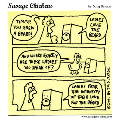 Savage Chickens Comic Strip for July 10, 2014