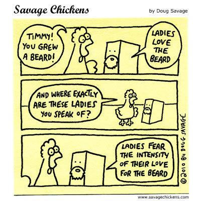 Savage Chickens for Jul 10, 2014 Comic Strip