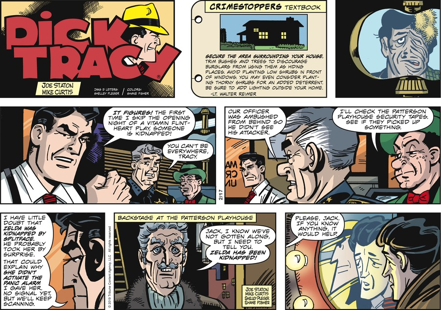 Dick Tracy Comic Strip for February 17, 2019