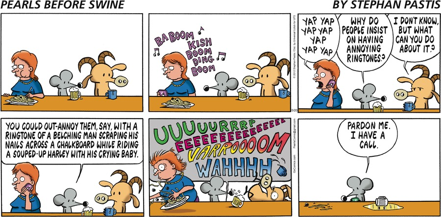 Pearls Before Swine Comic Strip for May 20, 2012