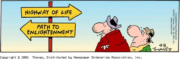 Frank and Ernest Comic Strip for April 08, 2002