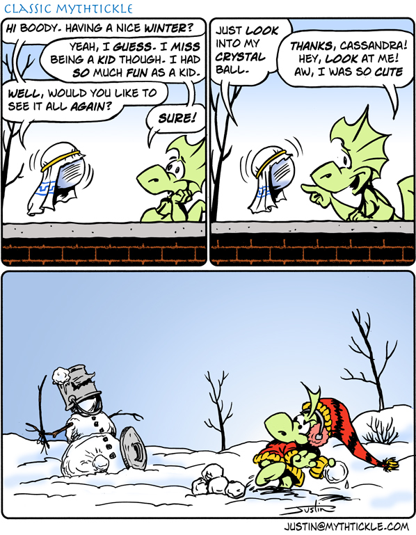 MythTickle Comic Strip for January 04, 2012