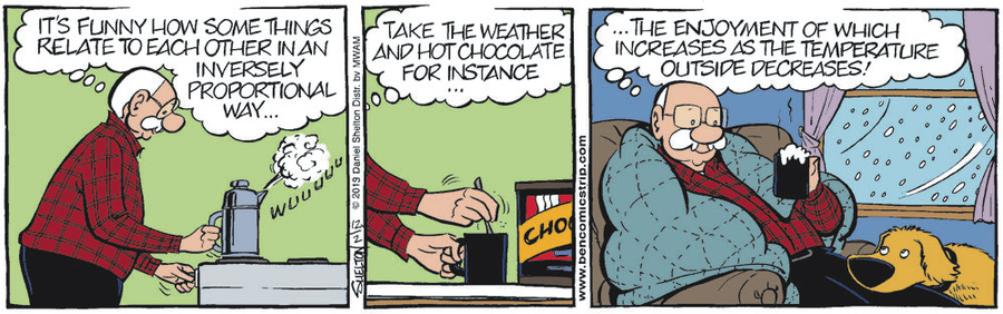 Ben Comic Strip for December 02, 2019