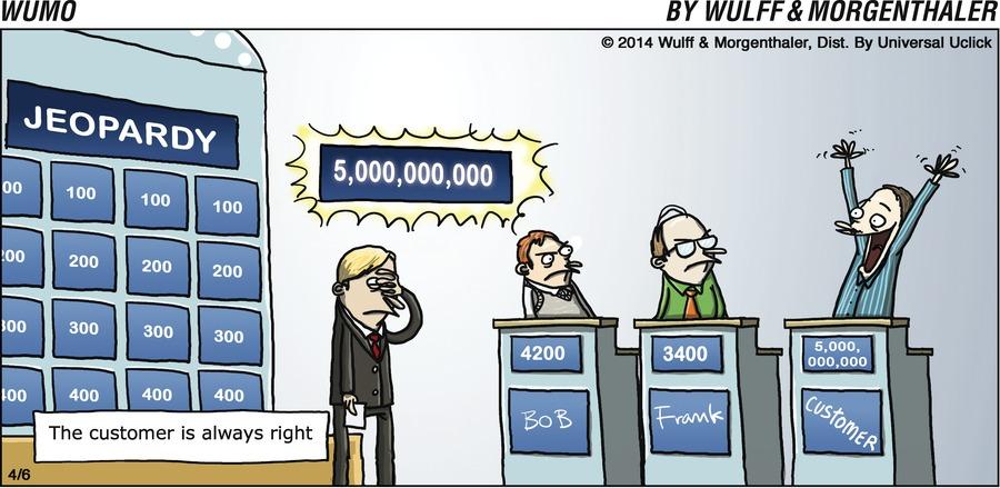 WuMo Comic Strip for April 06, 2014