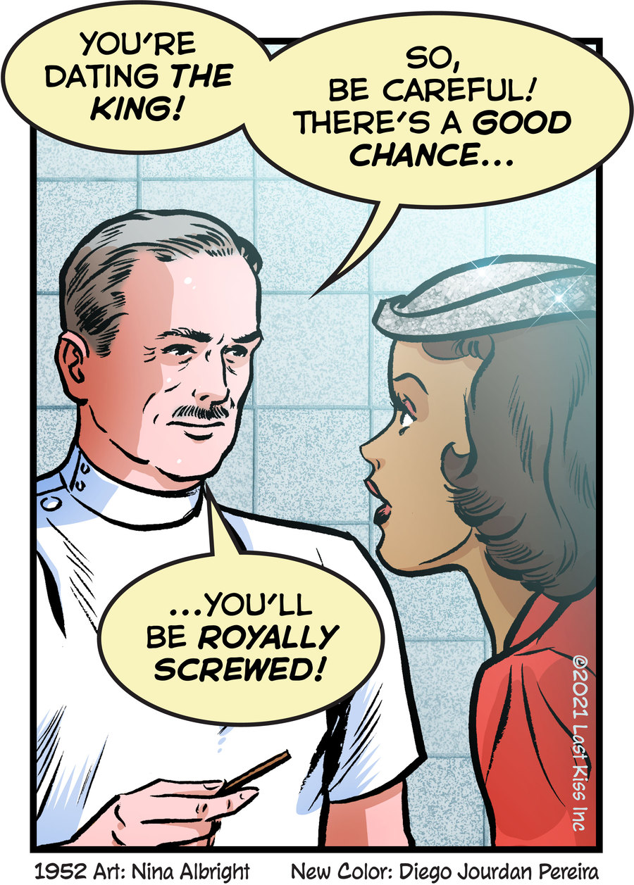 Last Kiss Comic Strip for May 28, 2021