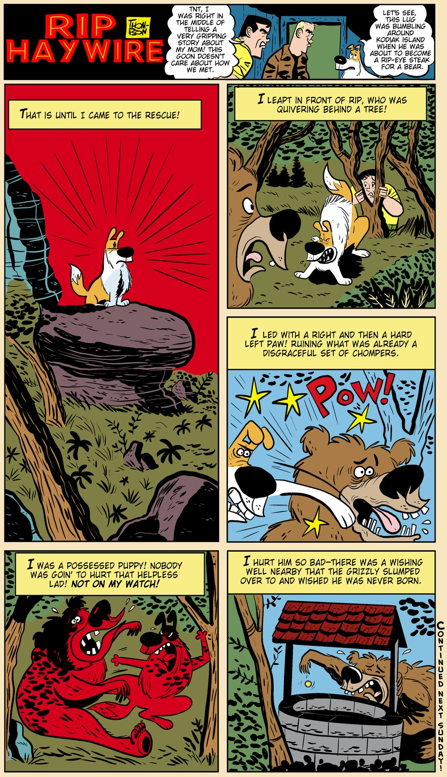 Rip Haywire Comic Strip for June 09, 2013