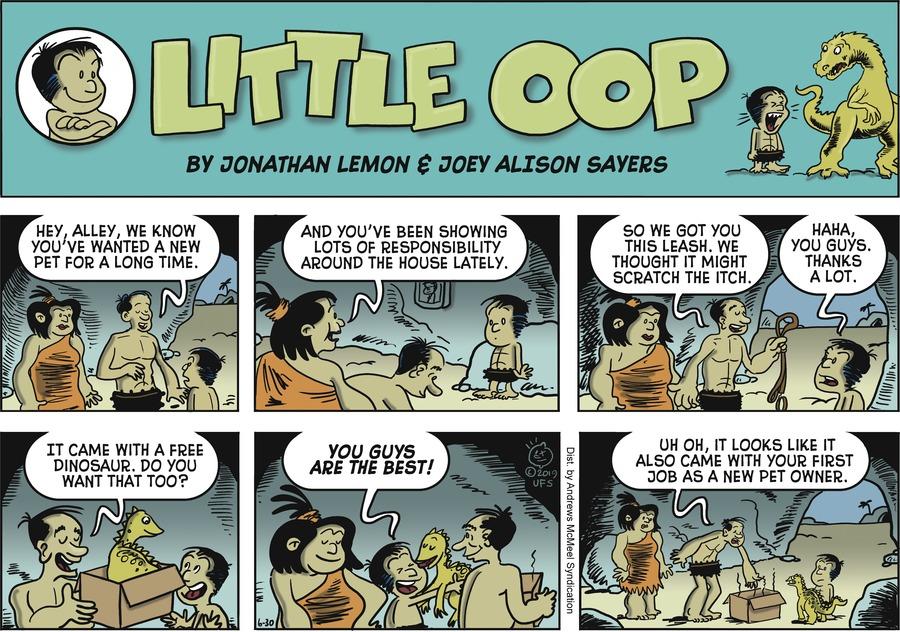 Alley Oop Comic Strip for June 30, 2019