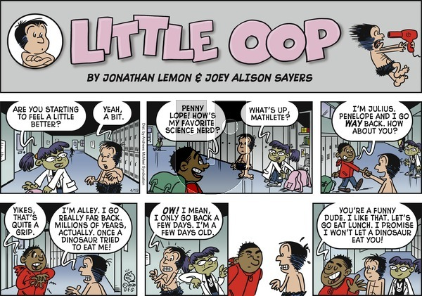 Alley Oop on Sunday April 19, 2020 Comic Strip