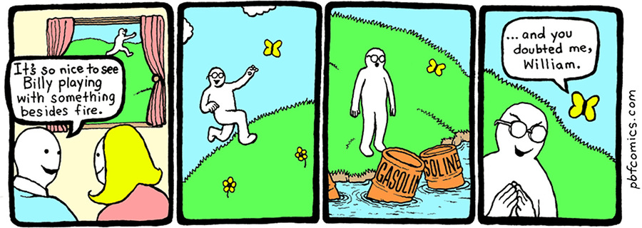 Perry Bible Fellowship by Nicholas Gurewitch on Thu, 21 Jan 2021