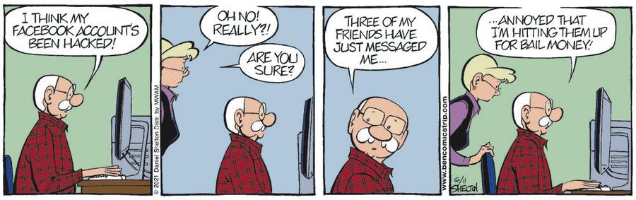 Ben Comic Strip for June 11, 2021