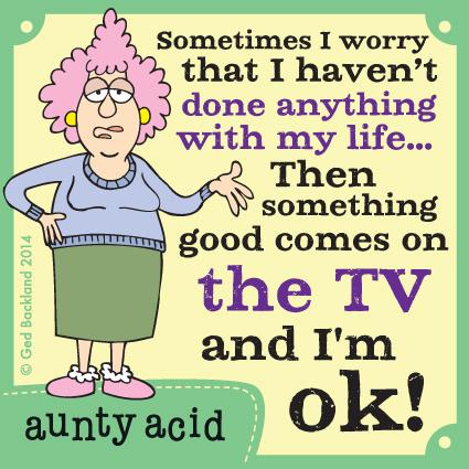 Aunty Acid for Aug 14, 2014 Comic Strip