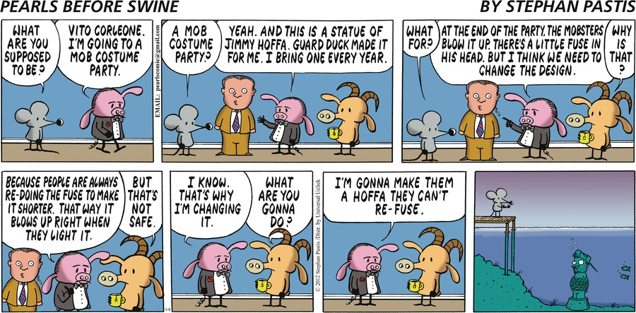 Pearls Before Swine for Jan 8, 2012 Comic Strip