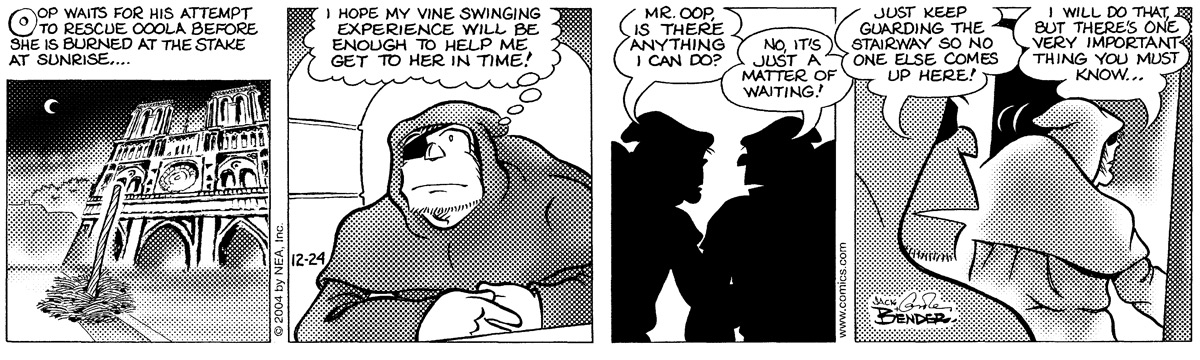 Alley Oop for Dec 24, 2004 Comic Strip