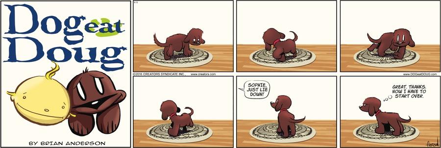 Dog Eat Doug Comic Strip for June 13, 2021