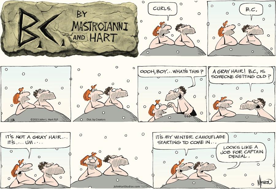 B.C. for Jan 13, 2013 Comic Strip