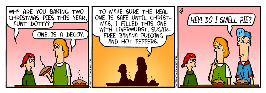Just Say Uncle Comic Strip for December 20, 2018