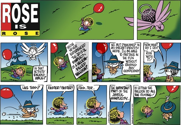 Rose is Rose on Sunday March 16, 2014 Comic Strip