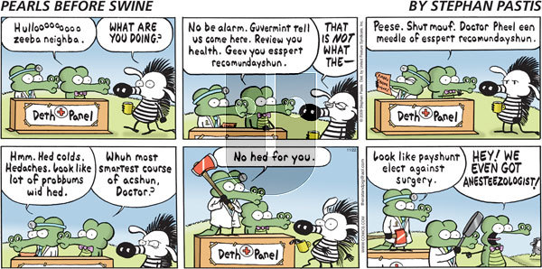 Pearls Before Swine on Sunday November 22, 2009 Comic Strip