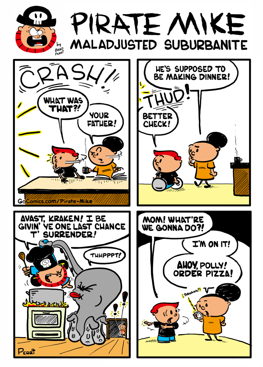 Pirate Mike by Brad Perri on Wed, 04 Dec 2019