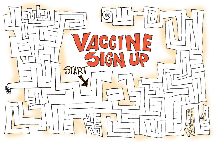 Signe Wilkinson Comic Strip for January 27, 2021
