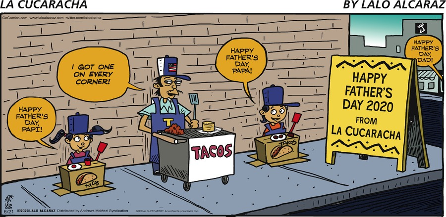La Cucaracha Comic Strip for June 21, 2020