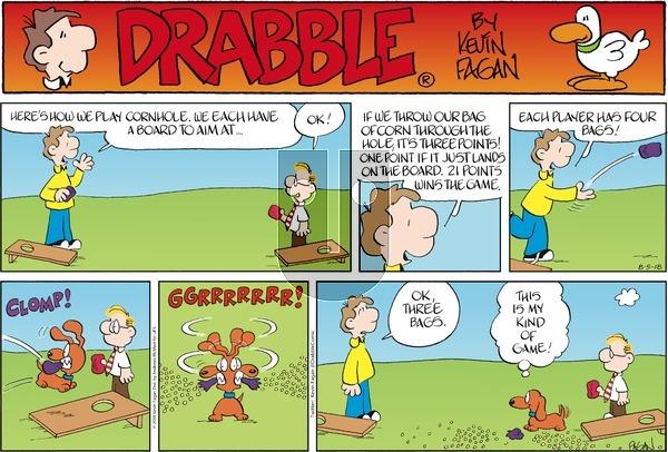 Drabble on Sunday August 5, 2018 Comic Strip