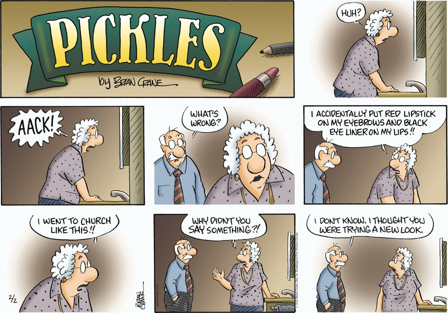 Pickles Comic Strip for February 02, 2020