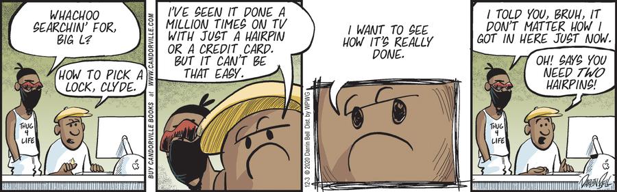 Candorville Comic Strip for December 03, 2020