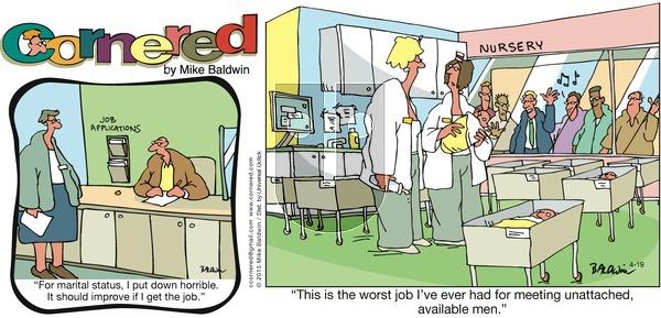 Cornered on Sunday April 19, 2015 Comic Strip