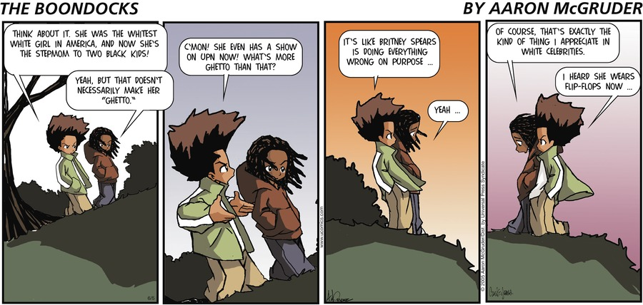The Boondocks for Jun 5, 2005 Comic Strip