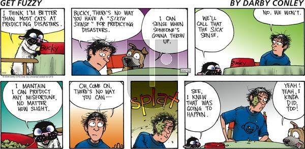Get Fuzzy on Sunday September 22, 2013 Comic Strip