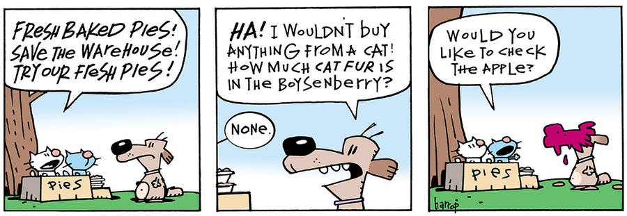 Ten Cats for Jul 4, 2013 Comic Strip