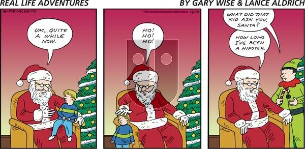 Real Life Adventures on Sunday December 10, 2017 Comic Strip