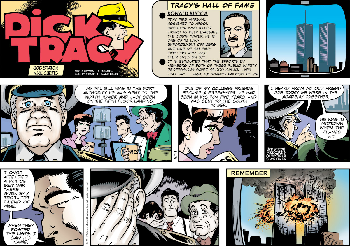 Dick Tracy Comic Strip for September 11, 2011