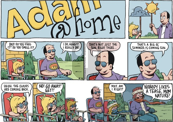 Adam@Home on Sunday May 5, 2019 Comic Strip