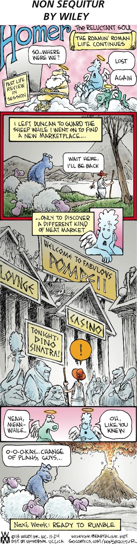 Non Sequitur for Nov 24, 2013 Comic Strip