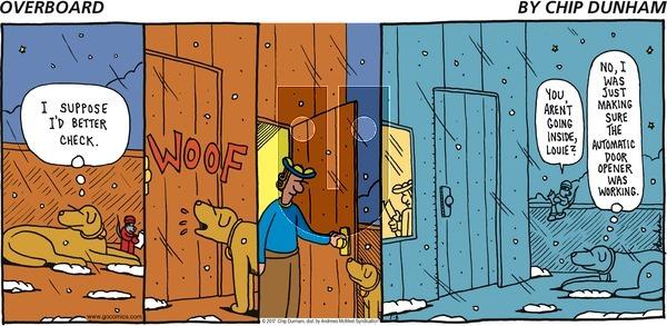 Overboard on Sunday January 8, 2017 Comic Strip