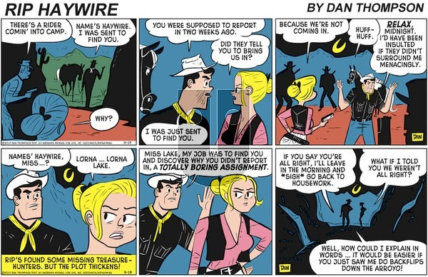Rip Haywire on Sunday May 3, 2020 Comic Strip