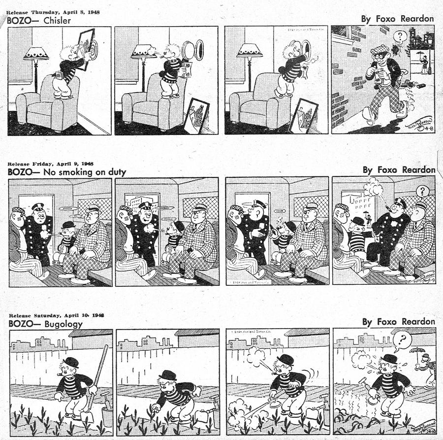 Bozo Comic Strip for July 25, 2021