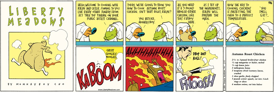 Liberty Meadows Comic Strip for February 10, 2019