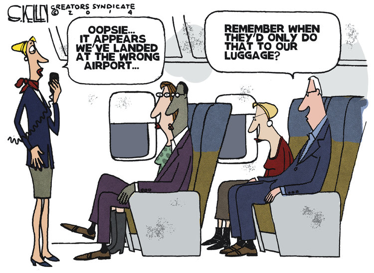 Steve Kelley for Jan 15, 2014 Comic Strip