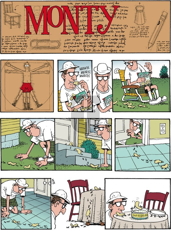 Monty on Sunday June 14, 2020 Comic Strip