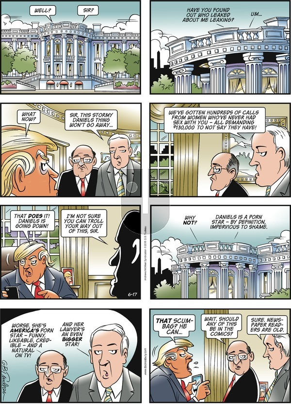 Doonesbury on Sunday June 17, 2018 Comic Strip