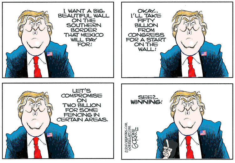 Bob Gorrell by Bob Gorrell for February 11, 2019