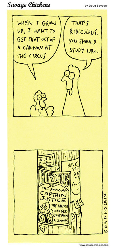 Savage Chickens Comic Strip for June 05, 2020